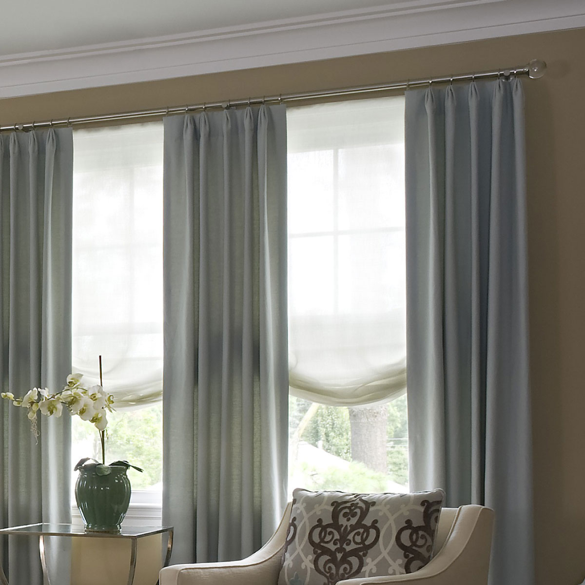 Fabric creations by ellen custom window treatments for Interior design resources